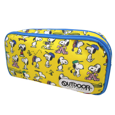 PEANUTS×OUTDOOR PRODUCTS ペンケース(POP)