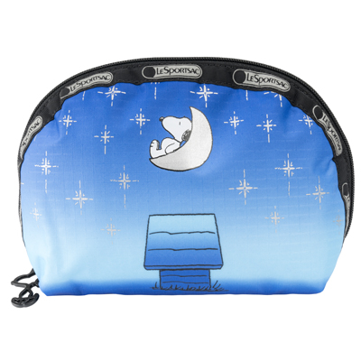 PEANUTS×LeSportsac MEDIUM DOME トワイライトムーン