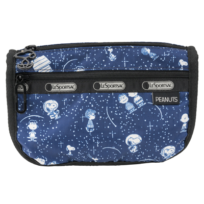 PEANUTS×LeSportsac TRAVEL COSMETIC スヌーピースターゲイザー