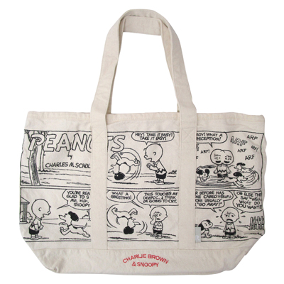 PEANUTS×ROOTOTE グランデバッグ(Greeting)