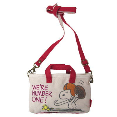 PEANUTS×ROOTOTE タイニールー フォン(Football)