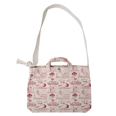 PEANUTS×ROOTOTE トール 2WAYバッグ(Pool/総柄)