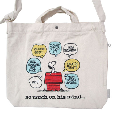 PEANUTS×ROOTOTE トール 2WAYバッグ(Thought)