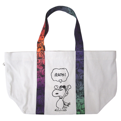 PEANUTS×ROOTOTE グランデバッグ(WHITE)