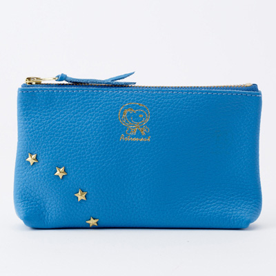【おかいものSNOOPY限定】ASTRONAUT×italian leather ポーチ
