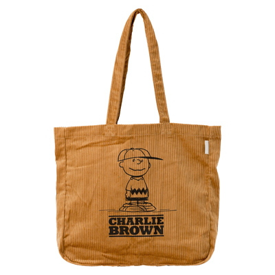 PEANUTS×ROOTOTE トールバッグ (Brown)