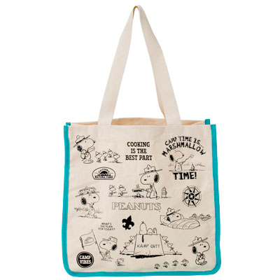 PEANUTS×ROOTOTE トール キャンバス (Beagle Scout)
