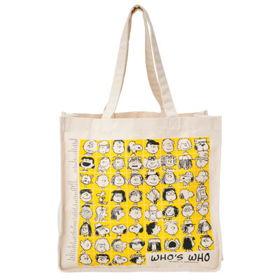 PEANUTS×ROOTOTE グランデ キャンバス (イエロー)