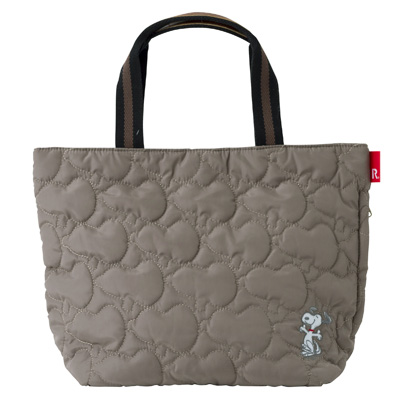 PEANUTS×ROOTOTE デリバッグ キルト(BEIGE)