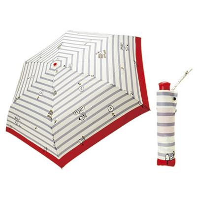 スヌーピー スヌーピー 晴雨兼用 UV折りたたみ傘