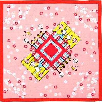 スヌーピー スヌーピー 季節の小風呂敷 (ひなまつり)