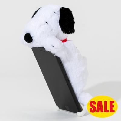 スヌーピー スヌーピー ZOOPY iPhoneカバー (ホワイト)