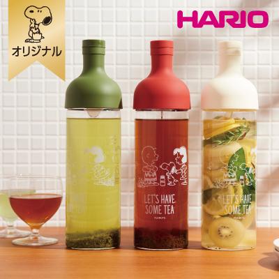 スヌーピー 【おかいものSNOOPYオリジナル】HARIO フィルターインボトル